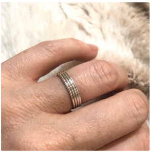 SMOOTH RING SET