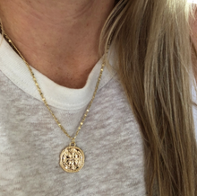 Load image into Gallery viewer, CROSS COIN NECKLACE
