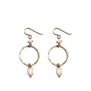 MEGAN OPAL EARRINGS