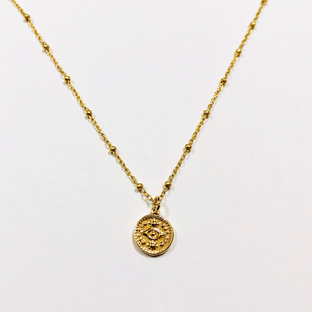 "18"" EVIL EYE NECKLACE"