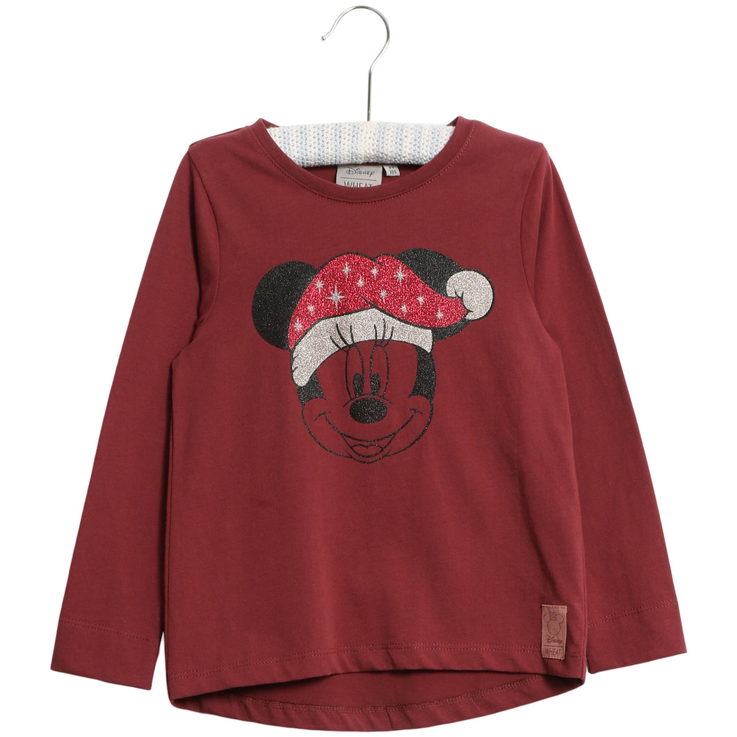 T-Shirt X-mas Minnie - Little moon