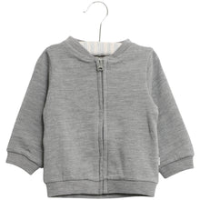 Indlæs billede til gallerivisning Wool Sweat Cardigan - Little moon