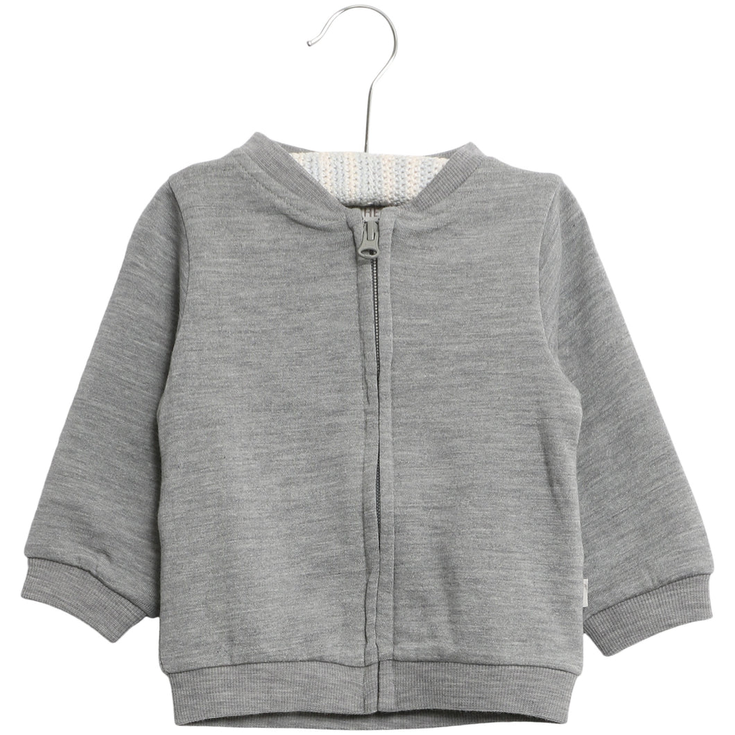 Wool Sweat Cardigan - Little moon