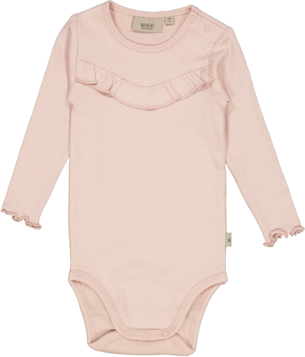 Body Rib Ruffle LS - Little moon