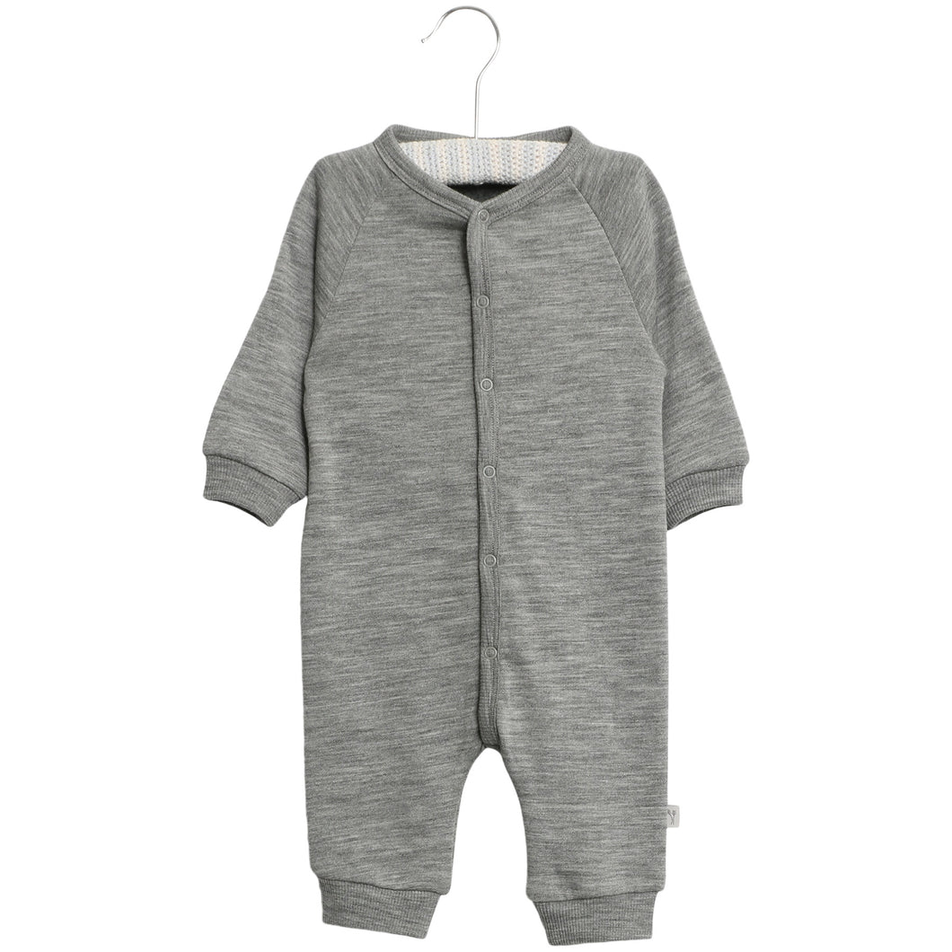 Wool Sweat Jumpsuit - Little moon