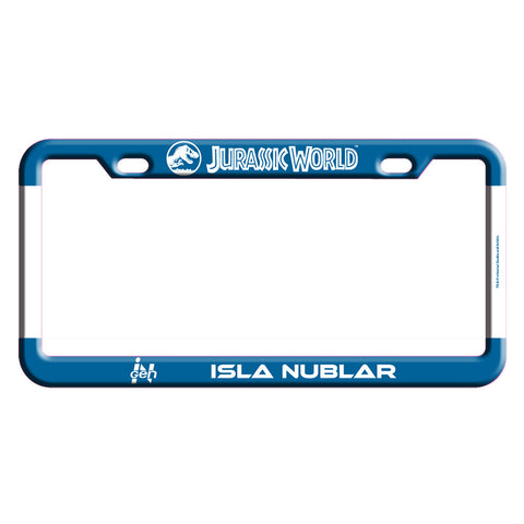 Jurassic World Isla Nublar License Plate Frame