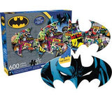 Batman Collage and Logo Jigsaw Puzzle