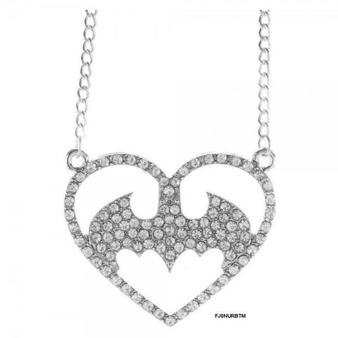 Batman Bling Necklace