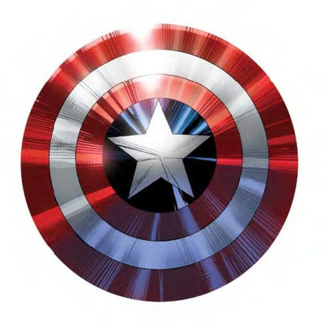 Captain America Shield Art