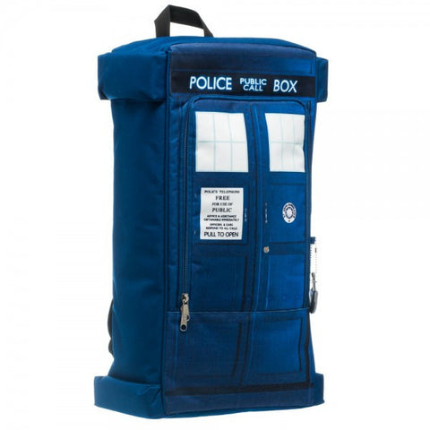 Doctor Who Tardis Booth Backpack