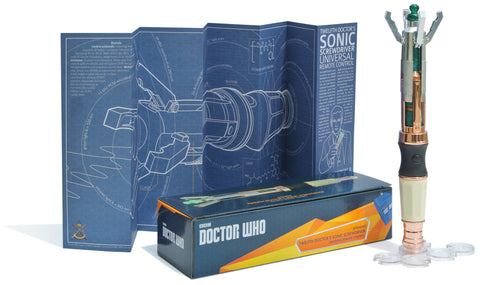 Doctor Who 12th Doctor Sonic Screwdriver Universal Remote