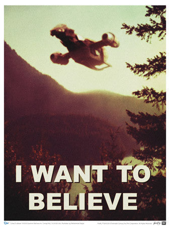 Firefly I Want to Believe Poster