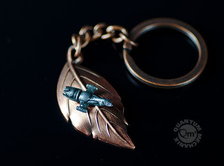 Firefly Leaf on the Wind Key Chain-Pendant