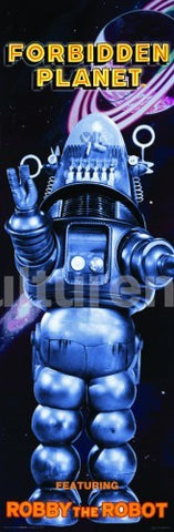 Forbidden Planet Robby Poster