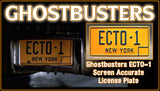 Ghostbusters License Plate