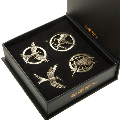Hunger Games Mockingjay Pin Set