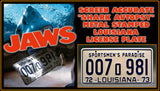 Jaws License Plate