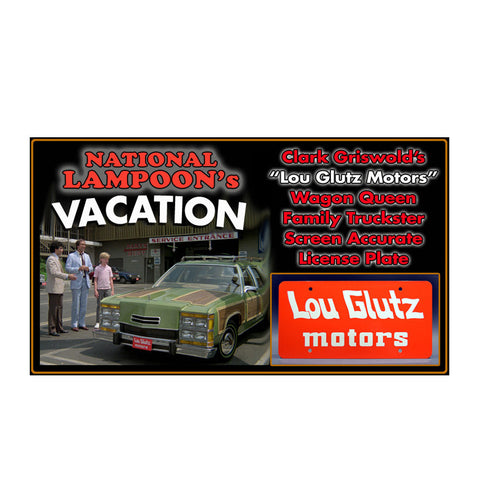 National Lampoon's Vacation License Plate