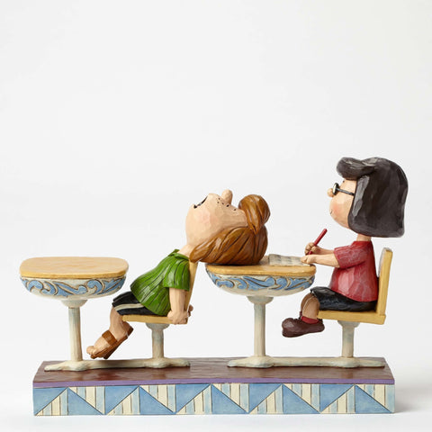 Jim Shore Peanuts School Daze Figure
