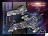 Serenity Firefly Architectural Cutaway Set