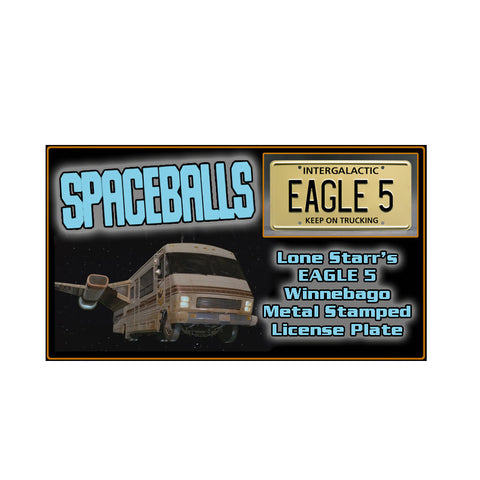 Spaceballs License Plate