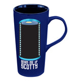 "Star Trek ""Beam Me Up"" Heat Reactive 20 oz. Ceramic Travel Mug"