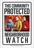 Star Trek Community Watch Sign