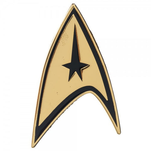 Star Trek Command Badge Pin