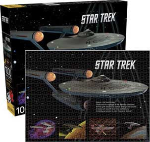 Star Trek Enterprise Jigsaw Puzzle
