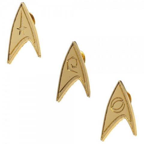 Star Trek Lapel Pin Set