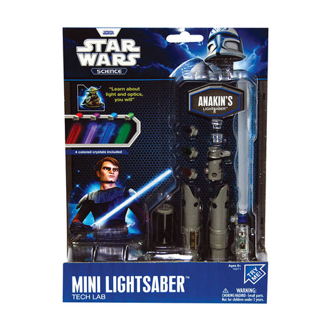 Star Wars mini lightsaber lab