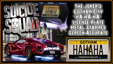 Suicide Squad License Plate