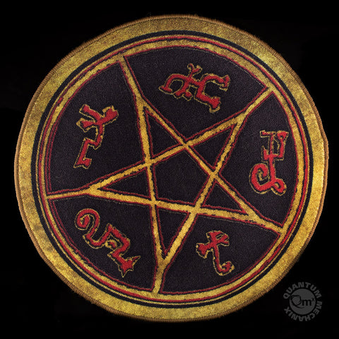 Supernatural Devil's Trap Door Mat