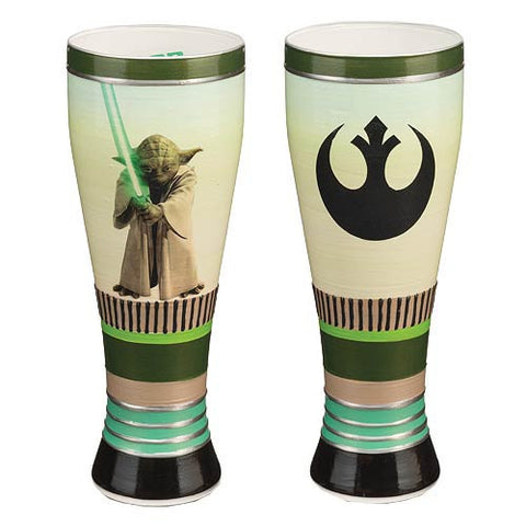 Star Wars Yoda Art Glass