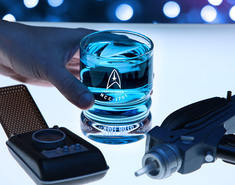 Star Trek Enterprise Glass Set