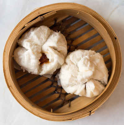 BBQ Pork Bun (叉烧包) X 6 pieces - Asian Pantry Delivery | Asian Alley Delivery,