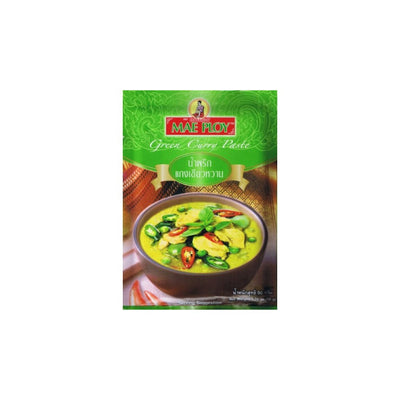 Mae Ploy Thai Green Curry Paste 50g - Asian Pantry Delivery | Asian Alley Delivery,
