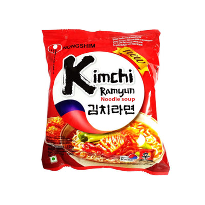 Nongshim Kimchi Ramyun Spicy Instant Noodle Soup - Asian Pantry Delivery | Asian Alley Delivery, sale