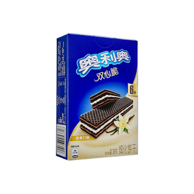 Oreo Wafer Biscuits Vanilla Flavour 87g - Asian Pantry Delivery | Asian Alley Delivery,