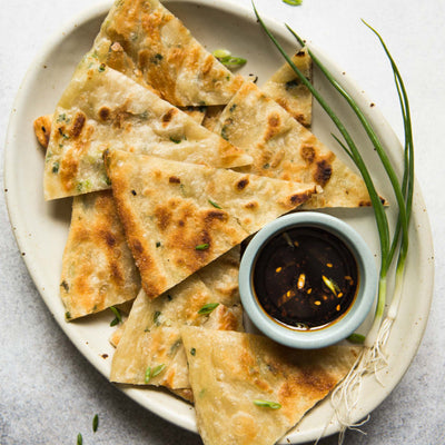 Scallion Pancake (葱油饼) X 5 pieces Ⓥ - Asian Pantry Delivery | Asian Alley Delivery,