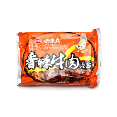Vedan Wei-Wei-A Beef Instant Noodles 80g - Asian Pantry Delivery | Asian Alley Delivery,