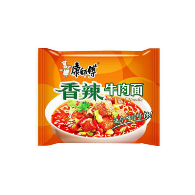 Kang Shi Fu Hot Beef Instant Noodle - Asian Pantry Delivery | Asian Alley Delivery,