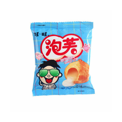 Wang Wang Milk Puff 18g x 5 packs - Asian Pantry Delivery | Asian Alley Delivery,