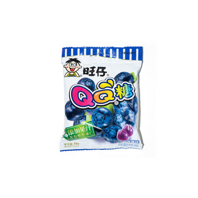 Wang Wang QQ Jelly Drops (Blueberry Flavour) 20g x 5 packs - Asian Pantry Delivery | Asian Alley Delivery,