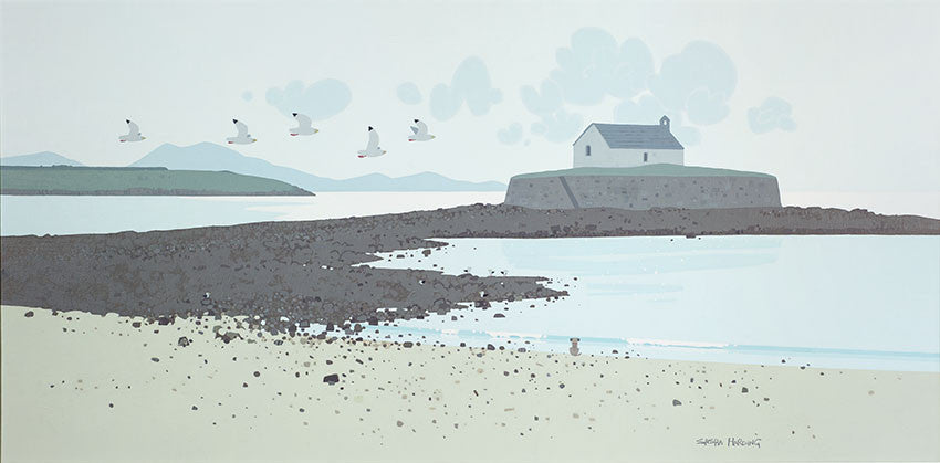 Sasha Harding, Limited Edition Print - Church in the Sea