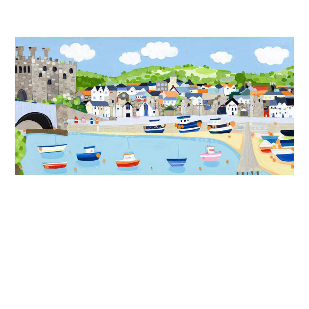 Conwy Harbour By Janet Bell Janet Bell Gallery