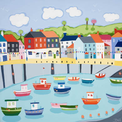 Padstow Harbour by Janet Bell