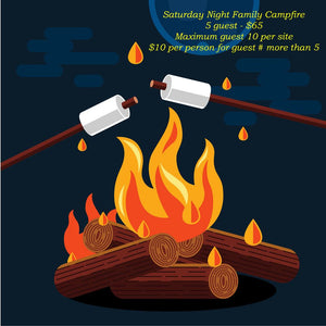 Campfires Sept 11th, 12th & 13th