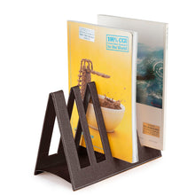 Load image into Gallery viewer, Ecoleatherette Magazine Holder