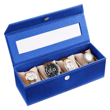 Load image into Gallery viewer, Eco Friendly Watch Box ( 4 Watches With Pillow)